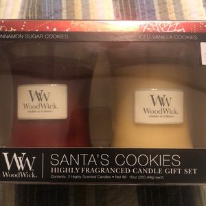 Woodwick Candle Holiday Duo